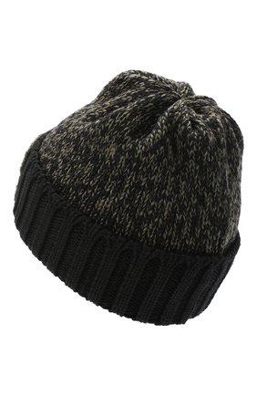 Детского шерстяная шапка CATYA хаки цвета, арт. 024739 | Фото 2