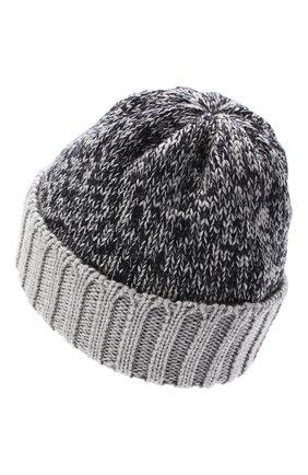 Детского шерстяная шапка CATYA серого цвета, арт. 024739 | Фото 2