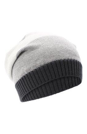 Детского шерстяная шапка CATYA серого цвета, арт. 024728 | Фото 1