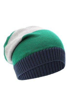 Детского шерстяная шапка CATYA разноцветного цвета, арт. 024728 | Фото 1
