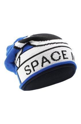 Детского шерстяная шапка CATYA голубого цвета, арт. 024726/P | Фото 1