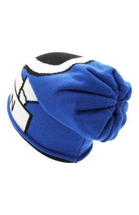 Детского шерстяная шапка CATYA голубого цвета, арт. 024726/P | Фото 2