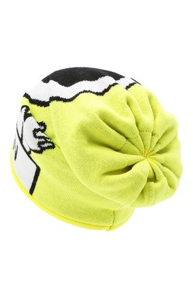 Детского шерстяная шапка CATYA желтого цвета, арт. 024726/P | Фото 2