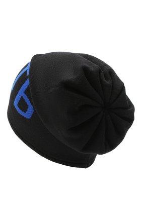 Детского шерстяная шапка CATYA черного цвета, арт. 024725 | Фото 2