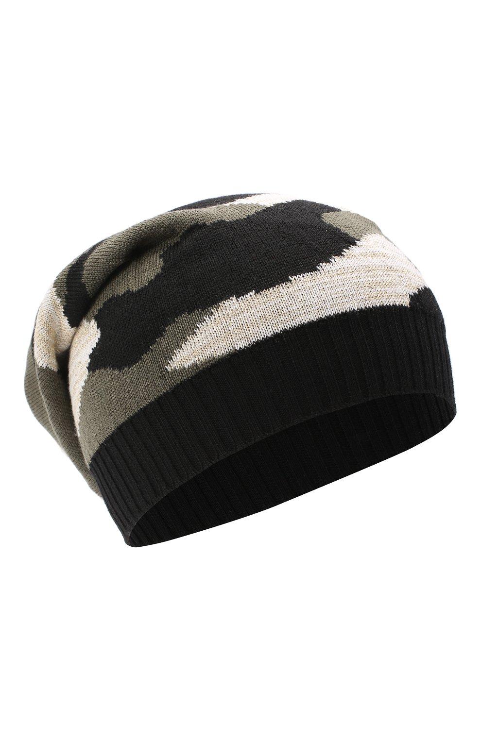Детского шерстяная шапка CATYA разноцветного цвета, арт. 024677 | Фото 1