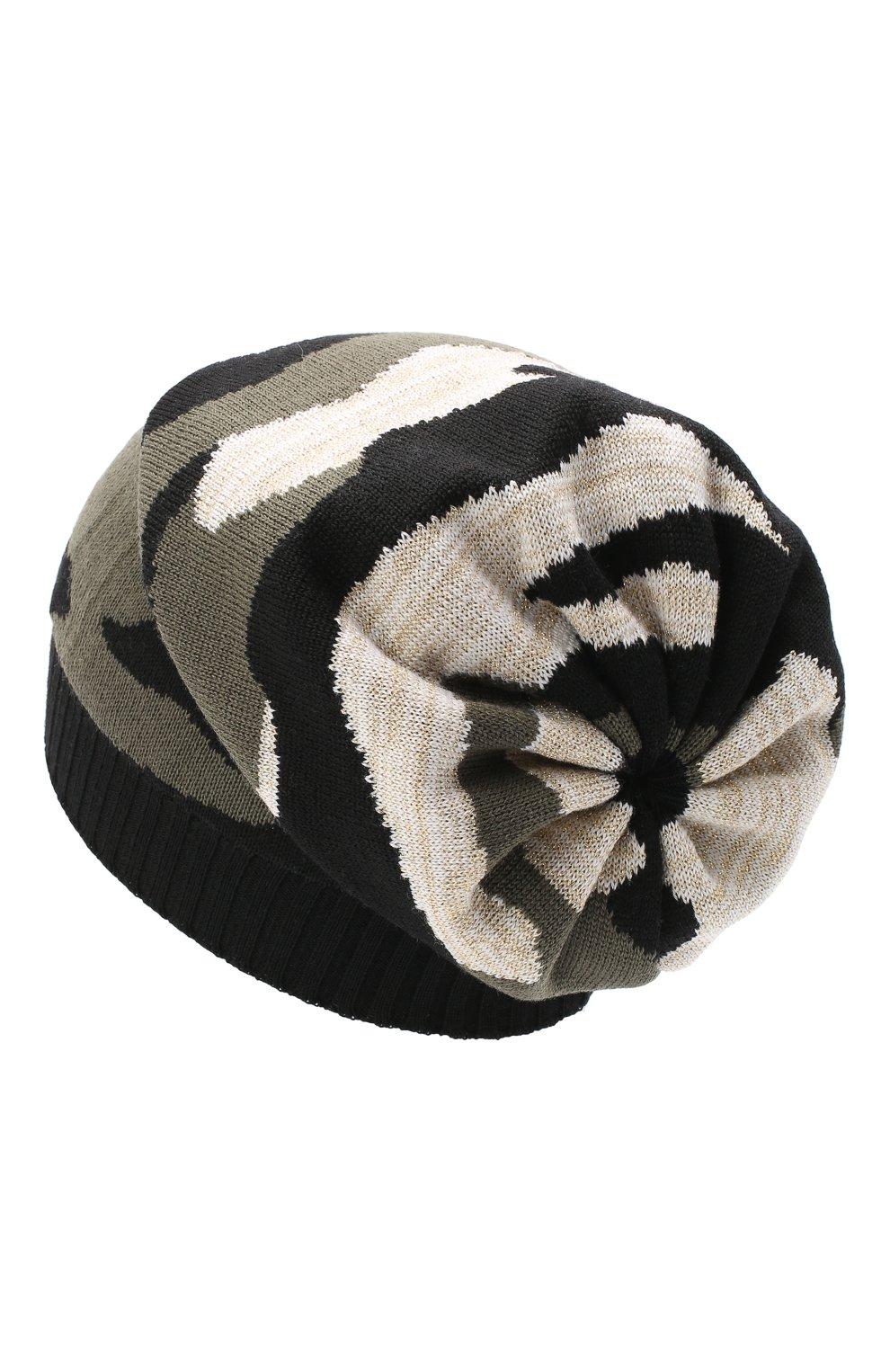 Детского шерстяная шапка CATYA разноцветного цвета, арт. 024677 | Фото 2
