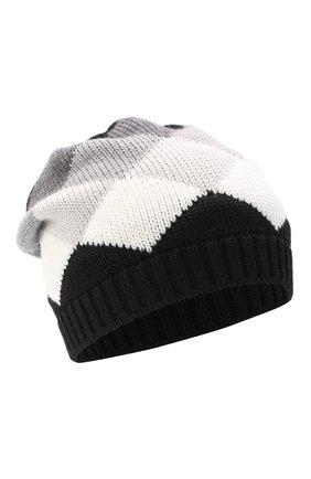 Детского шерстяная шапка CATYA серого цвета, арт. 024670/1 | Фото 1