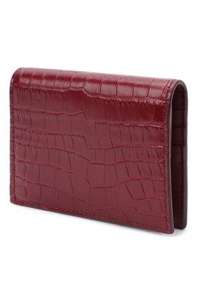 Женские кожаное портмоне MIU MIU красного цвета, арт. 5MV204-2B8G-F0041 | Фото 2