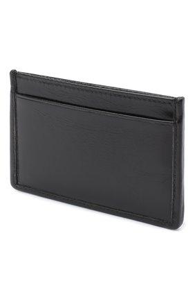 Женский кожаный футляр для кредитных карт MIU MIU черного цвета, арт. 5MC208-2D6C-F0002 | Фото 2