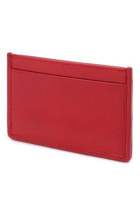 Женский кожаный футляр для кредитных карт MIU MIU красного цвета, арт. 5MC208-2D6C-F0011 | Фото 2