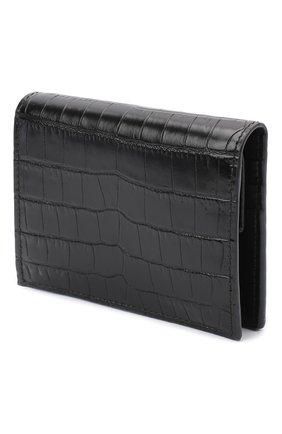 Женские кожаное портмоне MIU MIU черного цвета, арт. 5MV204-2B8G-F0002 | Фото 2