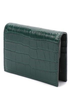 Женские кожаное портмоне MIU MIU зеленого цвета, арт. 5MV204-2B8G-F077U | Фото 2