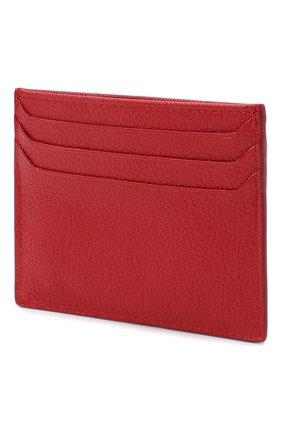 Женский кожаный футляр для кредитных карт MIU MIU красного цвета, арт. 5MC002-34-F068Z | Фото 2