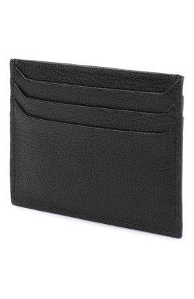 Женский кожаный футляр для кредитных карт MIU MIU черного цвета, арт. 5MC002-34-F0002 | Фото 2