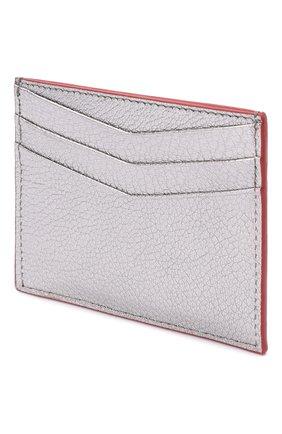 Женский кожаный футляр для кредитных карт MIU MIU серебряного цвета, арт. 5MC002-2BC3-F0135 | Фото 2