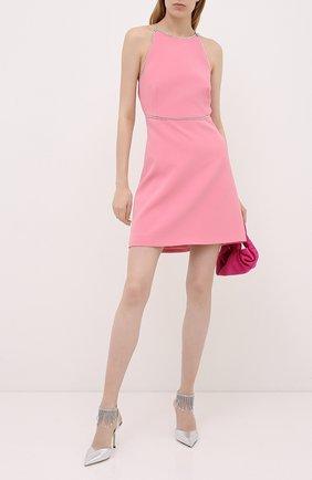 Женское платье MIU MIU розового цвета, арт. MF3528-1LW6-F0028 | Фото 2