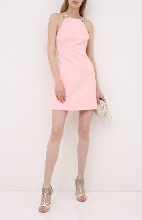 Женское платье MIU MIU розового цвета, арт. MF3846-1V18-F0442 | Фото 2