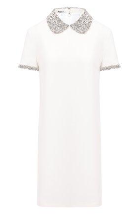 Женское платье MIU MIU белого цвета, арт. MF3864-1CSJ-F0K74   Фото 1