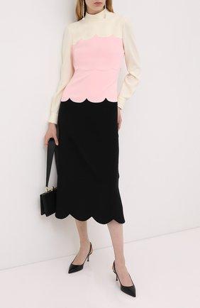 Женское платье-миди MIU MIU белого цвета, арт. MF3885-1XEI-F0304 | Фото 2