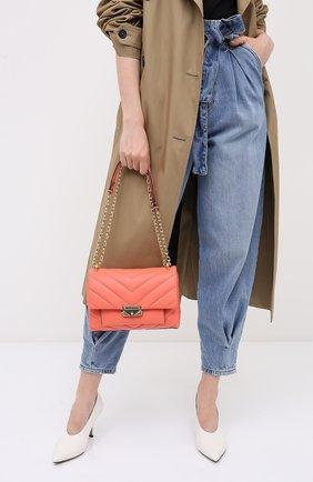 Женская сумка cece medium MICHAEL MICHAEL KORS кораллового цвета, арт. 30T9G0EL8L   Фото 2