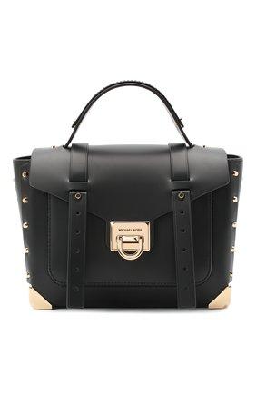 Женская сумка manhattan MICHAEL MICHAEL KORS черного цвета, арт. 30T9GNCS6L | Фото 1