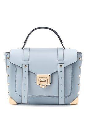 Женская сумка manhattan MICHAEL MICHAEL KORS голубого цвета, арт. 30T9GNCS6L | Фото 1