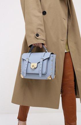 Женская сумка manhattan MICHAEL MICHAEL KORS голубого цвета, арт. 30T9GNCS6L | Фото 2