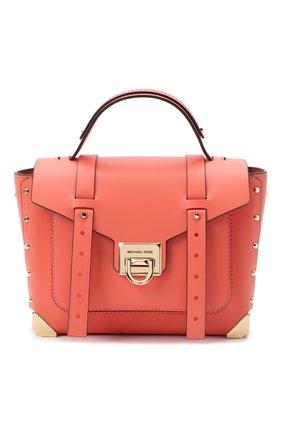 Женская сумка manhattan MICHAEL MICHAEL KORS кораллового цвета, арт. 30T9GNCS6L | Фото 1