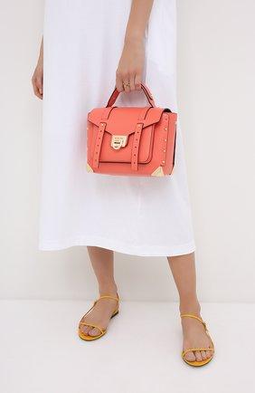 Женская сумка manhattan MICHAEL MICHAEL KORS кораллового цвета, арт. 30T9GNCS6L | Фото 2