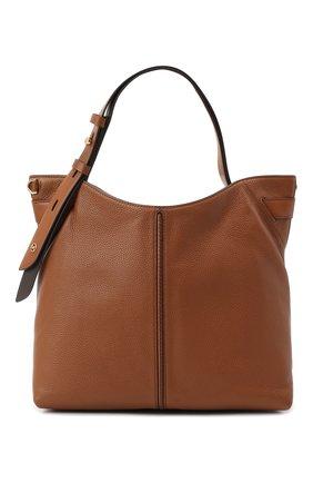 Женская сумка downtown astor MICHAEL MICHAEL KORS коричневого цвета, арт. 30S0GW2L9Y | Фото 1