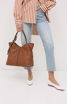 Женская сумка downtown astor MICHAEL MICHAEL KORS коричневого цвета, арт. 30S0GW2L9Y | Фото 2