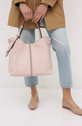 Женская сумка downtown astor MICHAEL MICHAEL KORS розового цвета, арт. 30S0GW2L9Y | Фото 2
