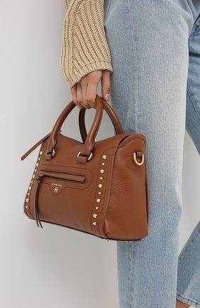 Женская сумка carine MICHAEL MICHAEL KORS коричневого цвета, арт. 30S0GCCS1T | Фото 2
