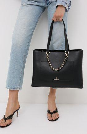 Женская сумка cece MICHAEL MICHAEL KORS черного цвета, арт. 30S0G0ET2L | Фото 2