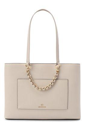 Женская сумка cece MICHAEL MICHAEL KORS бежевого цвета, арт. 30S0G0ET2L | Фото 1