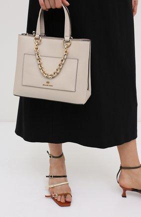 Женская сумка cece MICHAEL MICHAEL KORS бежевого цвета, арт. 30S0G0EM0L | Фото 2
