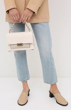 Женская сумка cece MICHAEL MICHAEL KORS бежевого цвета, арт. 30S0G0EL8Y | Фото 2