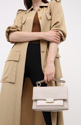 Женская сумка cece MICHAEL MICHAEL KORS бежевого цвета, арт. 30S0G0EL8U | Фото 2