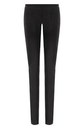 Женские брюки RICK OWENS черного цвета, арт. RP20F2319/LS   Фото 1