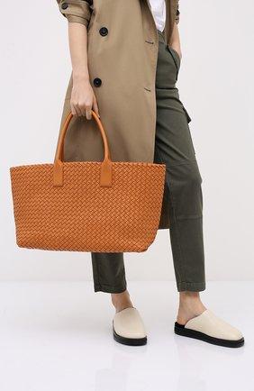 Женская сумка cabat medium BOTTEGA VENETA коричневого цвета, арт. 608810/VATH3 | Фото 2