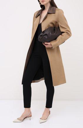 Женская кожаные туфли valentino garavani rockstud VALENTINO белого цвета, арт. UW2S0H14/V0D | Фото 2
