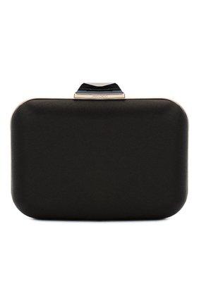 Женский клатч JIMMY CHOO черного цвета, арт. CL0UD/XL/I0R | Фото 1