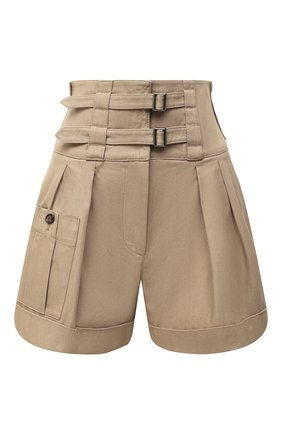 Женские хлопковые шорты DOLCE & GABBANA бежевого цвета, арт. FTBSGT/FU6WF | Фото 1