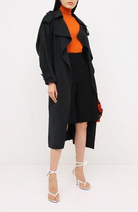Женский шерстяной пуловер VALENTINO оранжевого цвета, арт. UB3KC16F5NU | Фото 2