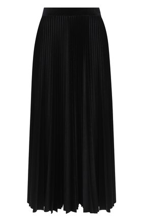 Женская юбка-миди VALENTINO черного цвета, арт. UB3MD01W5MD | Фото 1
