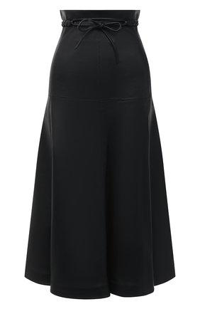 Кожаная юбка | Фото №1
