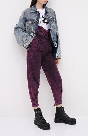 Женские джинсы REDVALENTINO розового цвета, арт. UR3DD02U/58V | Фото 2