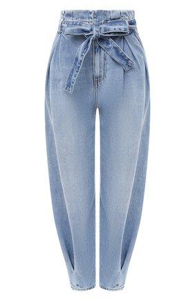 Женские джинсы REDVALENTINO синего цвета, арт. UR3DD02W/594 | Фото 1