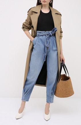 Женские джинсы REDVALENTINO синего цвета, арт. UR3DD02W/594 | Фото 2