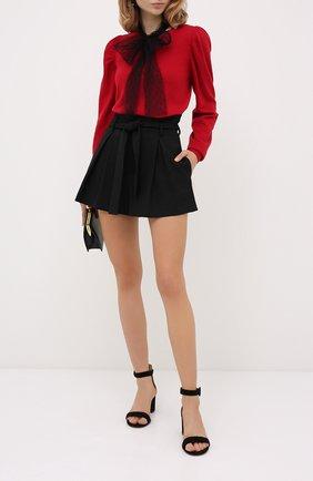 Женская пуловер из шерсти и вискозы REDVALENTINO красного цвета, арт. UR3KC01R/59B | Фото 2